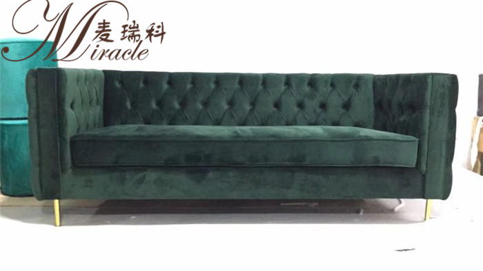 Modern Art Deco Style Customized Tufted