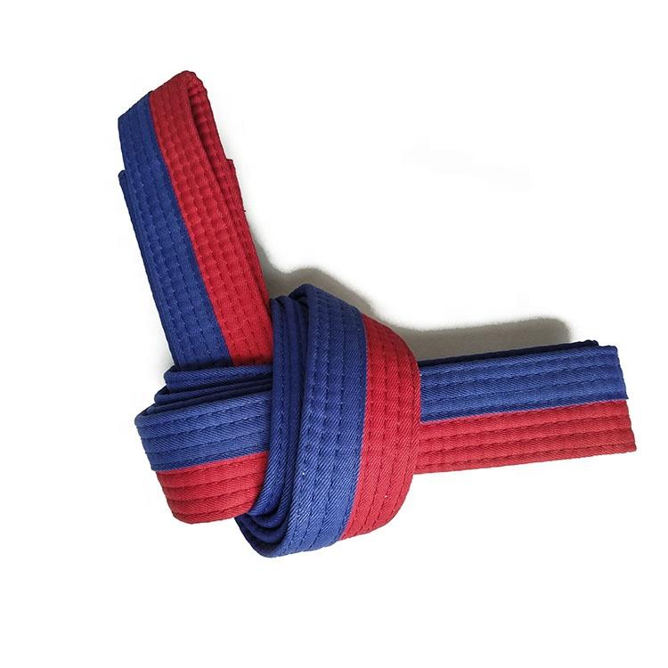 Martial Arts Taekwondo Yellow Blue Green Red Karate Belt Pro Boxing Supplies Q
