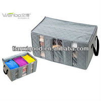 Non-woven foldable/fabric storage box and bins for home storage