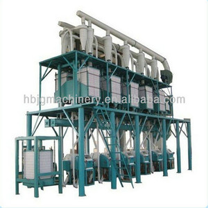 Mini automatic complete wheat flour milling machine/small scale wheat roll mill plant