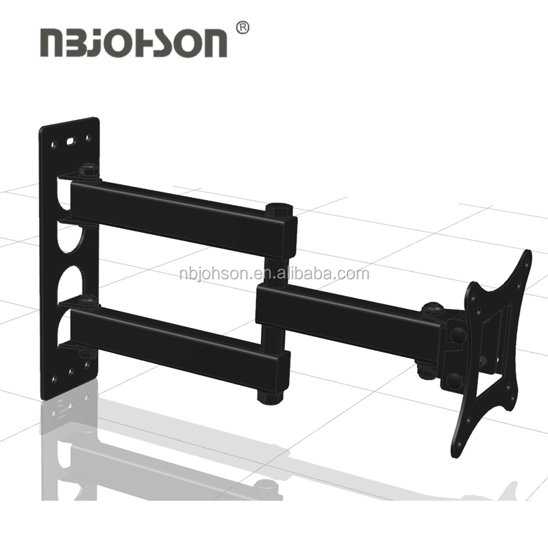 (LED311) Economy flip down ceiling 360 degrees cantilever swivel arm removable tv wall mount
