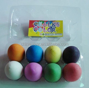 egg chalk for kids and paint