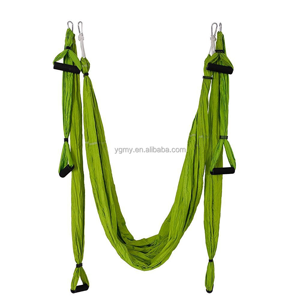 Yoga Swing Sling Trapeze Hammock For Gym Yoga Inversion Tool Large Bearing