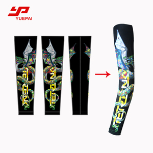 Custom printing anti-UV pro arm warmer outdoor sport arm sleeves cycling climbing sleeve