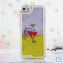 For iPhone 6s/6 Amazing Wholesale Case ,New Moving Flower Heart Liquid 3D Phone Case Cover For iPhone 6s/6
