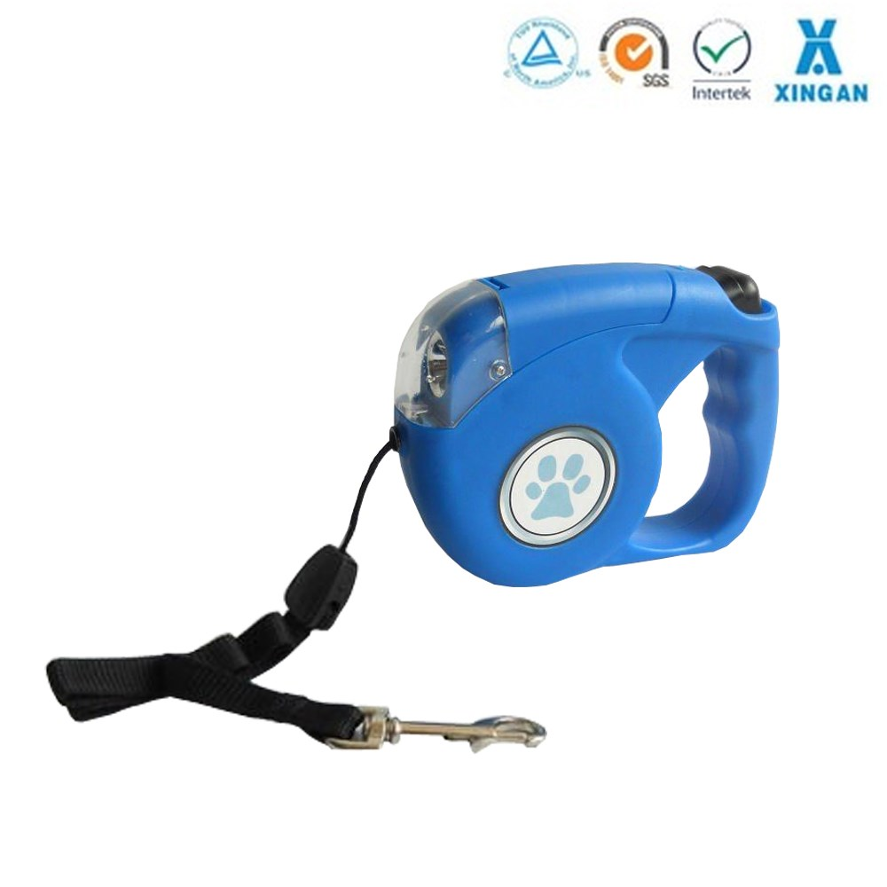 hot sell LED dog retractable, high quality dog leash