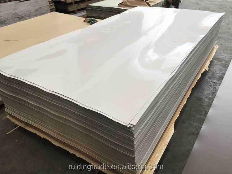 0.5mm white HPL/high pressure laminate formica/sunmica sheet/board