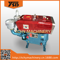 YASHIDA ZS1115 Single Cylinder Air Cooled Diesel Engine marine diesel engine used