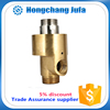 1.2 inch double way brass pipe fittings water quick connectors