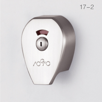 factory directly 2018 AOGAO 17-2 zinc alloy toilet partition door lock