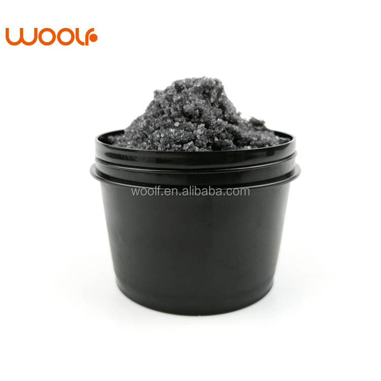 Sea Salt Natural Private Label Charcoal Coffee Whitening Body Scrub