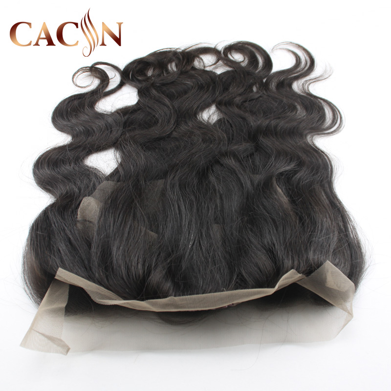 New products Pre Plucked 360 lace frontal closure body wave,8A virgin human hair,free sample Brazilian hair