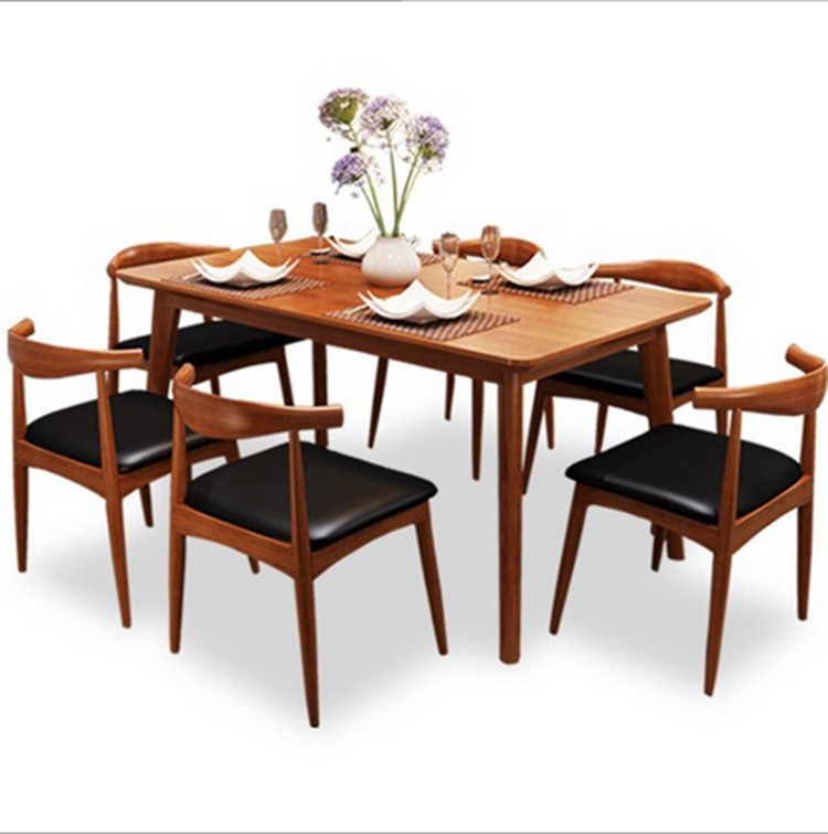 China Wholesale Solid Wooden Dining Table Furniture Pakistan