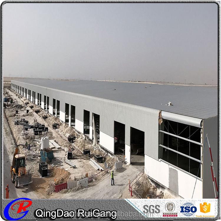 Low Cost Quick Build Prebricated steel Warehouse Storage for Industrial Building Application