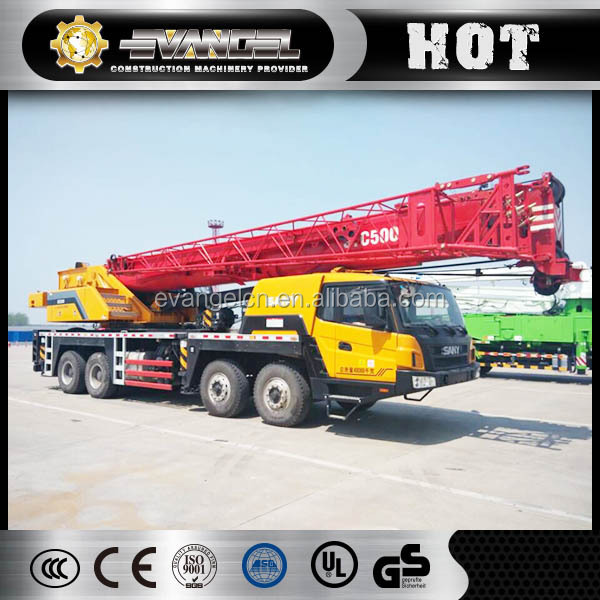 Crane parts of all Sany Mobile Crane truck