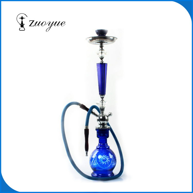 high quality hookah large size for glass hookha shisha