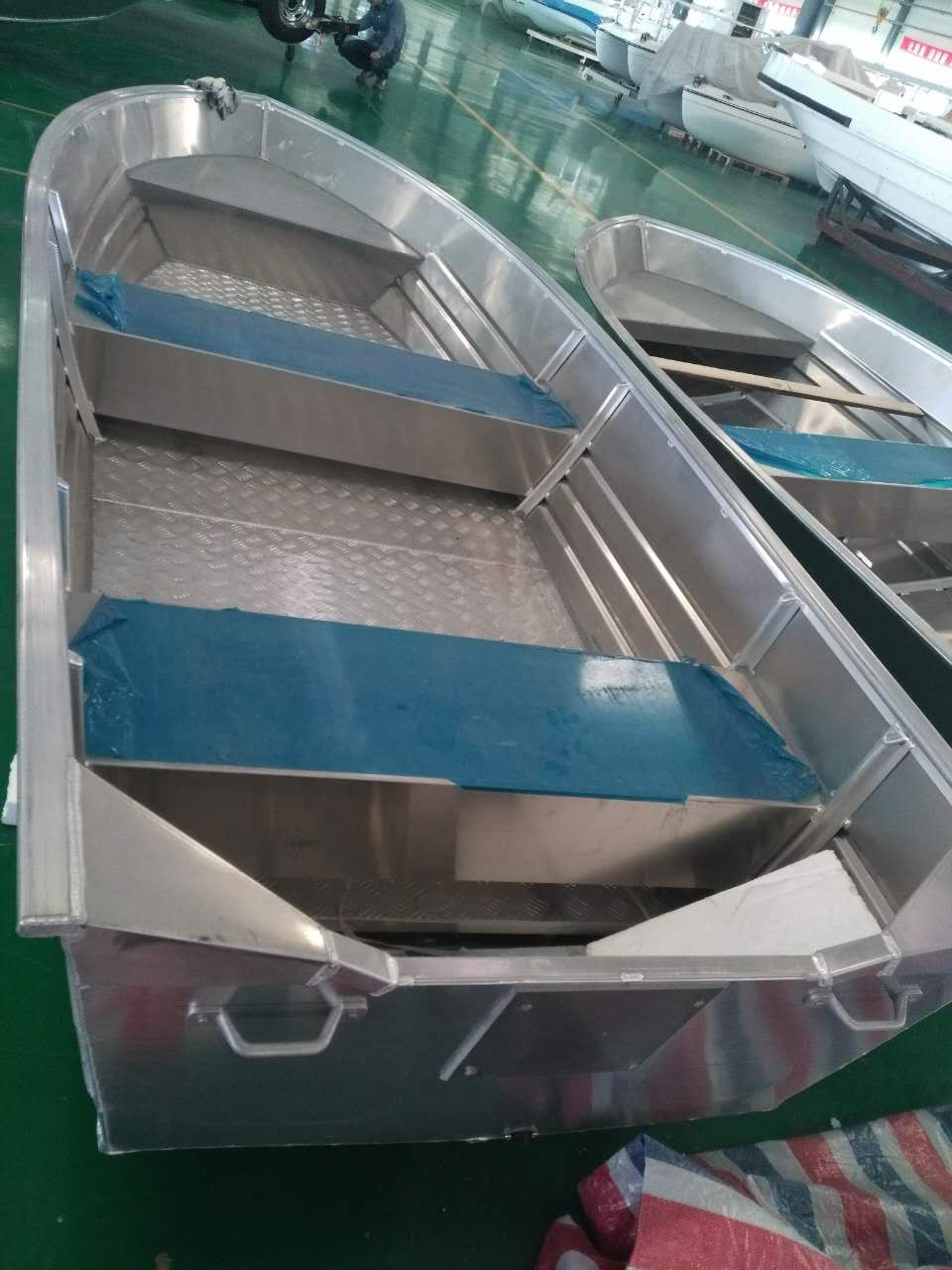 11ft 20 Ft Sword Welded Aluminum Fishing Boat Centre Console With Bench Seat Manufacturer View 11ft 20 Ft Aluminum Fishing Boat Centre Console Small Cabin Aluminum Boat Sanj Product Details From Hubei Sanjiang Boats