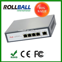 Support SFP port 5 ports 10/100m poe switch manufacturer, 5-port poe switch