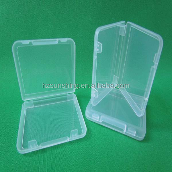 Best-selling pp transparent plastic business neme card case ID card holder
