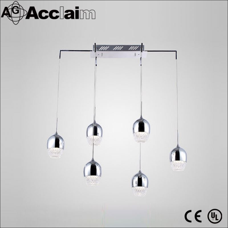 house decorations modern chromeplated lamp cup chandeliers pendant lights