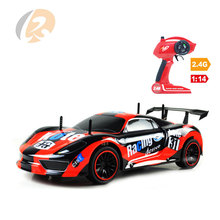 2.4g drift racer high speed toys 1:14 rc car body with exquisite details