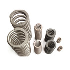 Compression Spring of High Strength, High Elasticity and High Fatigue Resistant Circular Steel Wire