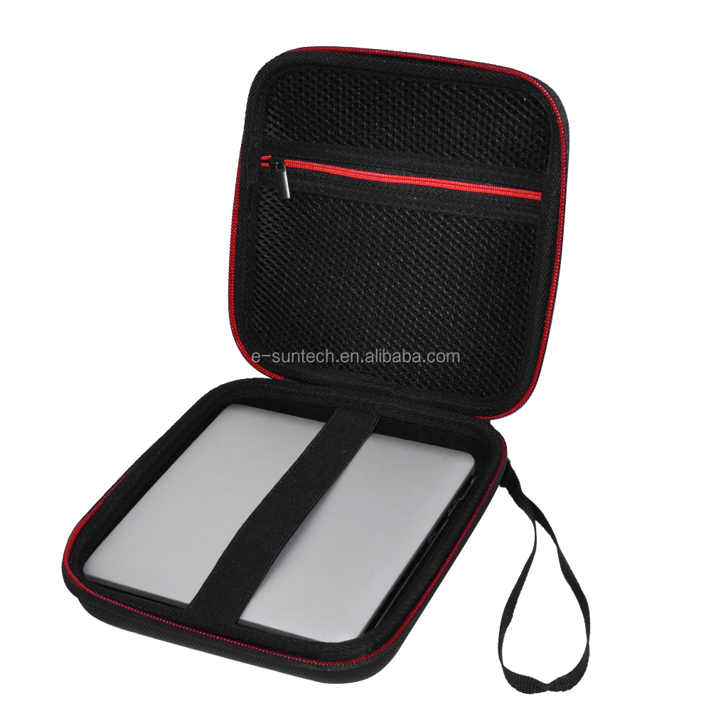 Travel Storage Case Bag for USB External DVD, CD, blu-ray rewriter / writer and optical drives