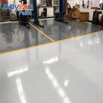 Mayods Self Leveling Garage Floor Epoxy Paint Garage Floor