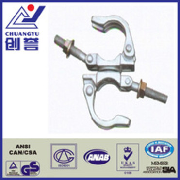 Steel Q235 galvanized forged type of clips scaffolding with factory price