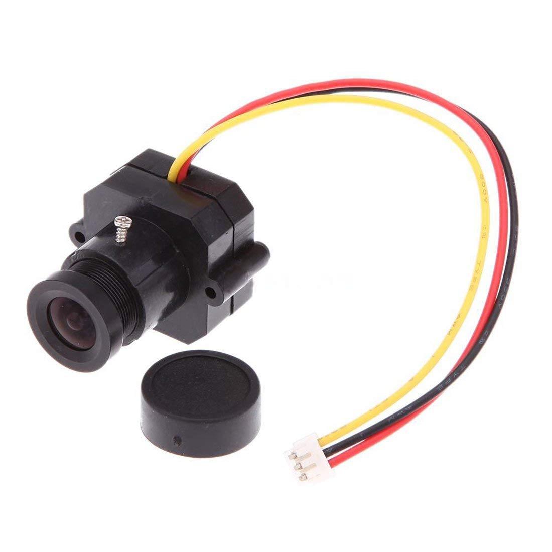 Mini Camera - SODIAL(R)High Permance FPV 1/3 inch HD Color CMOS 600TVL Mini Camera PAL System SM7I