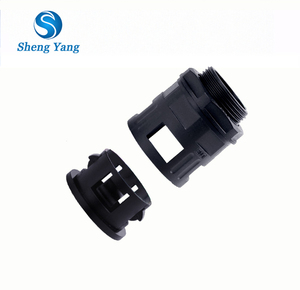 SY Nylon PA Conduit Connector Straight Connector for Flexible Conduit Electrical Conduit Pipe Fittings