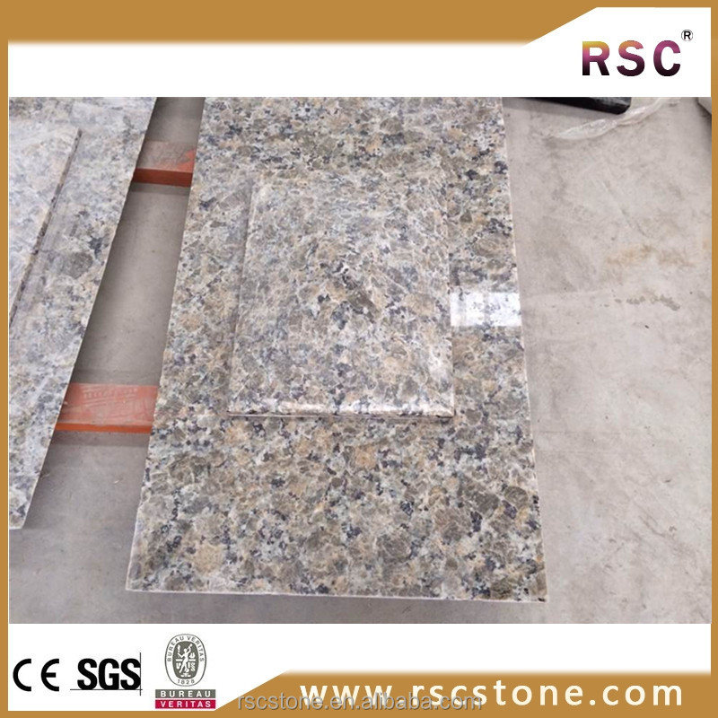 Beige butterfly granite slabs and tiles for sale