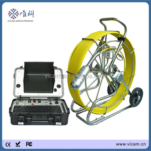 CCTV underwater pipe inspection surveillance system with HD DVR