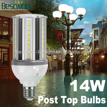 For Solar Light Using Replace Cfl Garden Post Top Light 14w Led ...