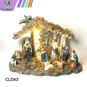 Polyresin Holy Family Figurine Nativity Set Religious Craft