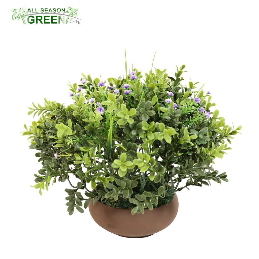ASG mini plant outdoor ornamental bonsai <strong>house</strong> decoration <strong>home</strong> artificial bonsai plants