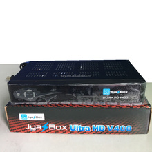 Original Jyazbox ultra hd V400 DVB-S2 satellite decoder with jb200 module and wifi dongle for North america