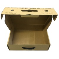 Kraft paper recycle custom made corrugated mailer box