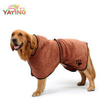Pet Towel Microfiber Dog Bathrobe Towel Microfiber Pet Drying Robes Moisture Absorbing Towels Coat for Dog and Cat