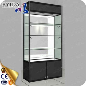 Aluminum glass showcase for showroom