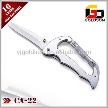 types of swivel combination lock carabiner with knife