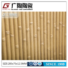 Decorative wall tiles, beige color bamboo ceramic tile