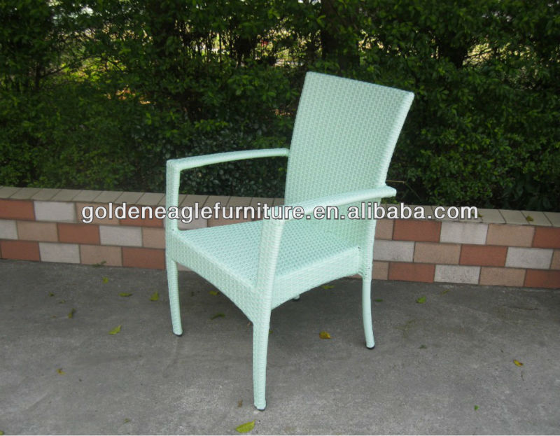 Hot sale !!! colorful wicker and rattan outdoor chair