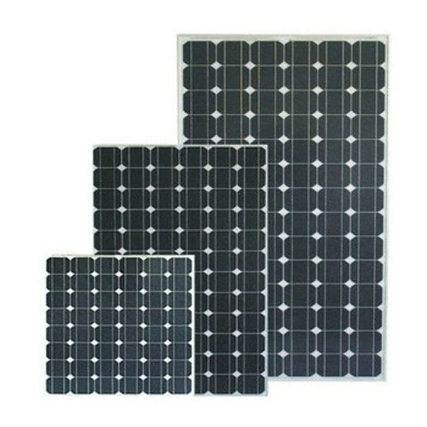High Efficiency Low Price Good Quality TUV CEC Certificated Solar Panel 100W Mono Solar Module 100W Mono