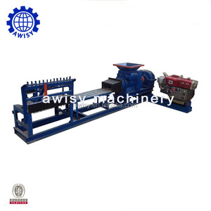 Vacuum Brick Extruder Automatic Burned Fired Green Red Mud Soil Clay Brick Making Machine for sale