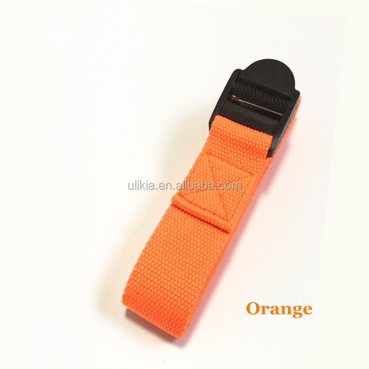 6ft (183 cm) de Algodão Durável Cinch Fivela Pull Yoga Estiramento Strap para Pilates Yoga Eco Friendly