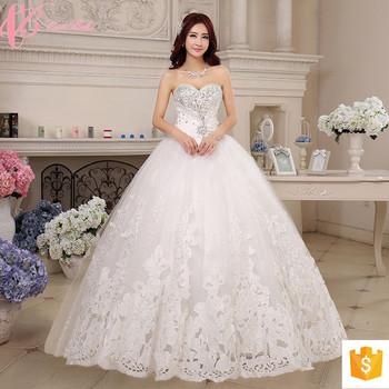 Plus Size Wedding Dress White Latest Designs Photos Gown