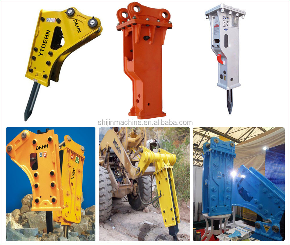 side type hydraulic rock breaker,breaker hammer with 68mm chisel