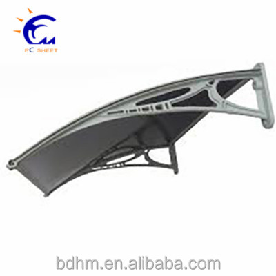 Polycarbonate awning for window and polycarbonate Window door canopy
