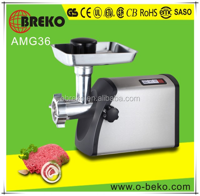 AC motor frozen lobster meat grindering machine with sausage attachment